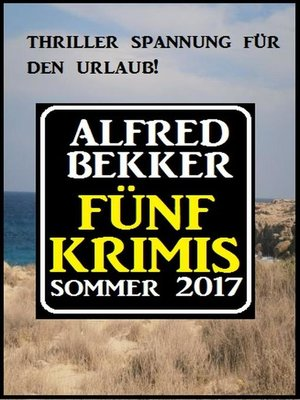 cover image of Fünf Krimis Sommer 2017