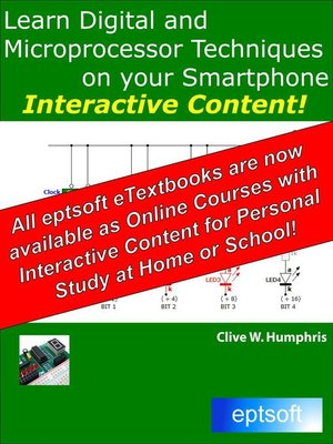 cover image of Learn Digital and Microprocessor Techniques on Your Smartphone