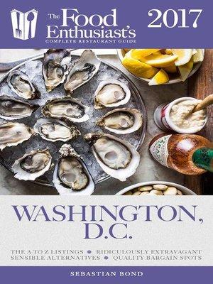 cover image of Washington, D.C.--2017
