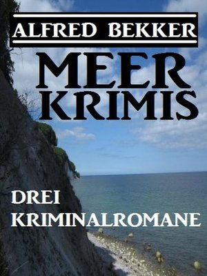 cover image of Drei Alfred Bekker Kriminalromane