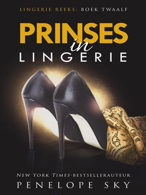 cover image of Prinses in lingerie