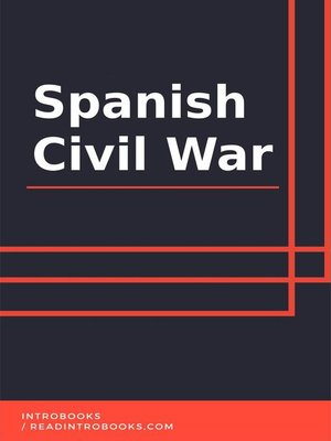 cover image of Spanish Civil War