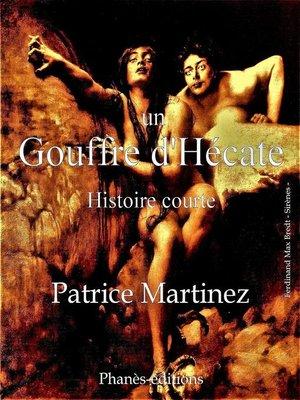 cover image of Un Gouffre d'Hécate