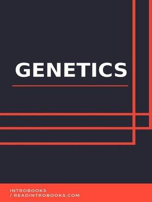 cover image of Genetics