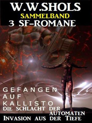 cover image of Sammelband 3 SF-Romane