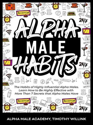 cover image of Alpha Male Habits