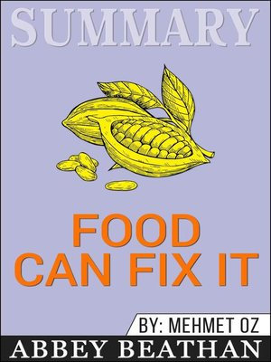 cover image of Summary of Food Can Fix It