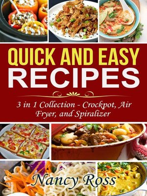cover image of Quick and Easy Recipes