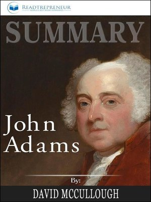 cover image of Summary of John Adams by David McCullough