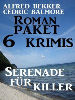 cover image of Roman-Paket 6 Krimis