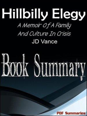 cover image of Hillbilly Elegy (Book Summary)