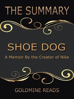 cover image of The Summary of Shoe Dog