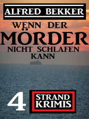 cover image of Wenn der Mörder nicht schlafen kann