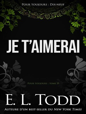 cover image of Je t'aimerai