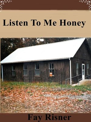 cover image of Listen to Me Honey