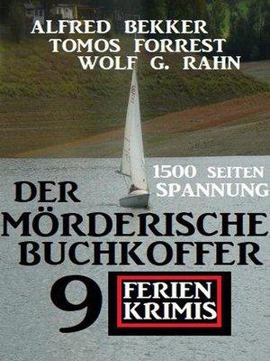 cover image of Der mörderische Buchkoffer