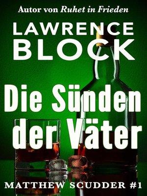 cover image of Die Sünden der Väter
