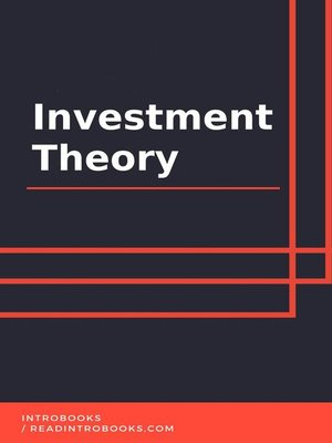 cover image of Investment Theory