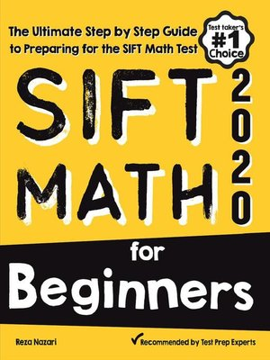 cover image of SIFT Math for Beginners