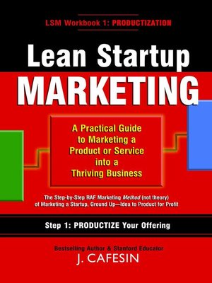 cover image of Lean Startup Marketing
