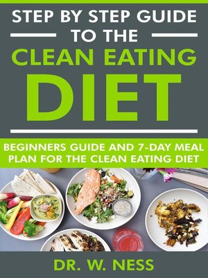 cover image of Step by Step Guide to the Clean Eating Diet