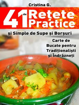 cover image of 41 de Retete Practice si Simple de Supe si Borsuri