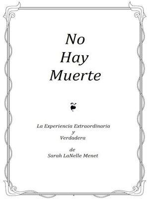 cover image of No Hay Muerte