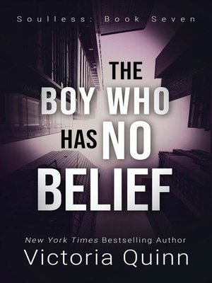 cover image of The Boy Who Has No Belief