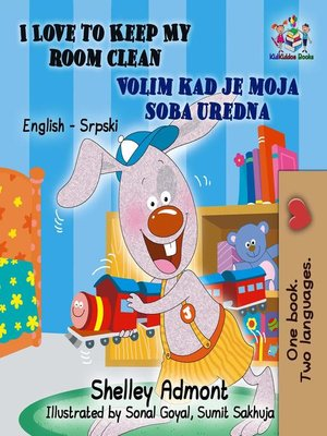 cover image of I Love to Keep My Room Clean Volim kad je moja soba uredna