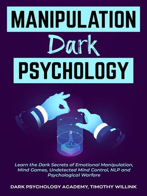 cover image of Manipulation Dark Psychology