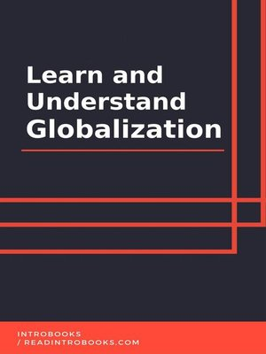 cover image of Learn and Understand Globalization