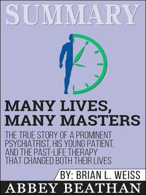 cover image of Summary of Many Lives, Many Masters