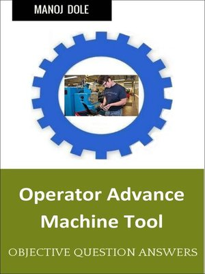 cover image of Operator Advance Machine Tool
