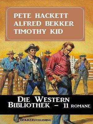 cover image of Die Western Bibliothek