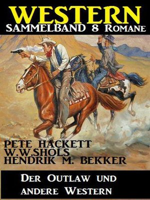 cover image of Western Sammelband 8 Romane