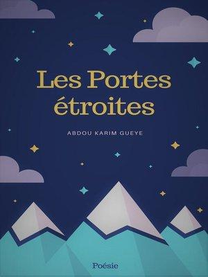 cover image of Les Portes étroites