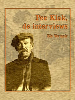 cover image of Pee Klak, de interviews