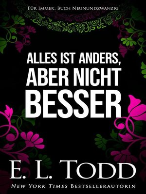 cover image of Alles ist anders, aber nicht besser