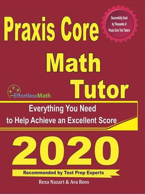 cover image of Praxis Core Math Tutor