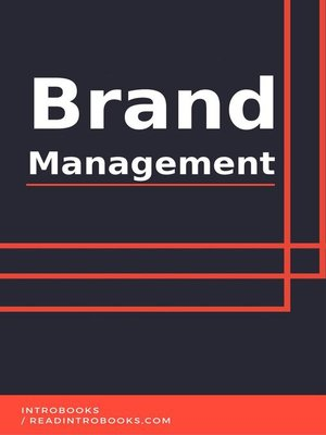 cover image of Brand Management