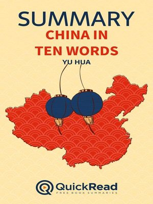 """cover image of Summary of """"China in Ten Words"""" by Yu Hua"""