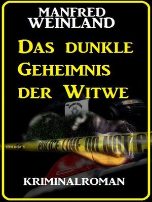 cover image of Das dunkle Geheimnis der Witwe