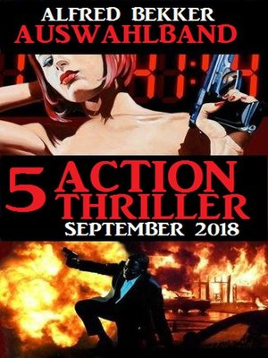 cover image of Auswahlband 5 Action Thriller September 2018