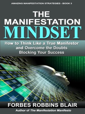 cover image of The Manifestation Mindset