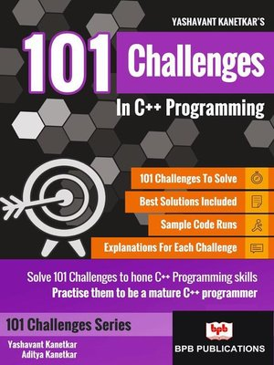 cover image of 101 Challenges In C++ Programming