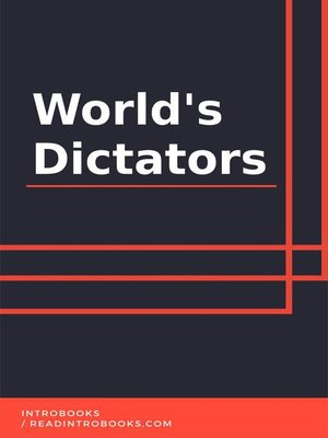 cover image of World's Dictators