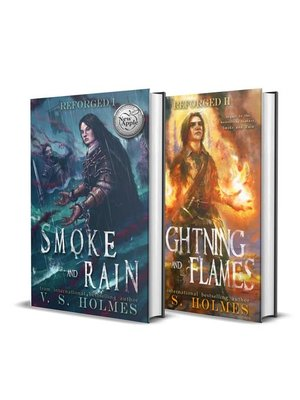 cover image of Reforged 1 and 2 Box Set (Smoke and Rain, Lightning and Flames)