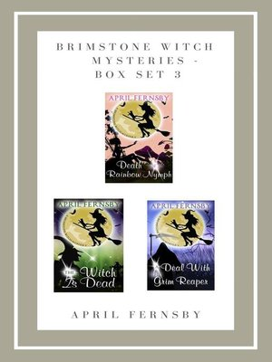 cover image of Brimstone Witch Mysteries--Box Set 3