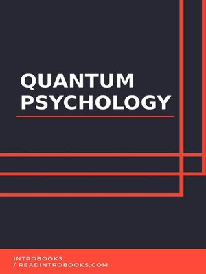 cover image of Quantum Psychology