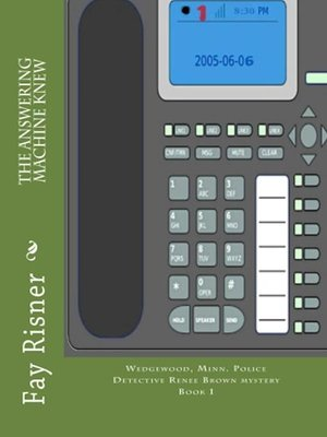cover image of The Answering Machine Knew
